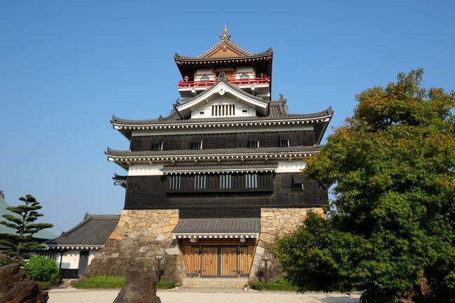 この日の締めくくりに清洲城を見に行きました。