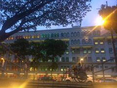 シンガポール マーライオン・パーク~ラッフル卿上陸記念のあたりを散策~帰国へ⑧