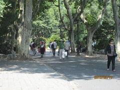 上海日本租界の魯迅公園