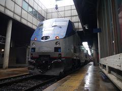 飛行機代約11万円(+JAL25,000マイル)世界一周の旅2~3日目 Capitol Limited号(AMTRAK) シカゴ→ワシントンD.C.