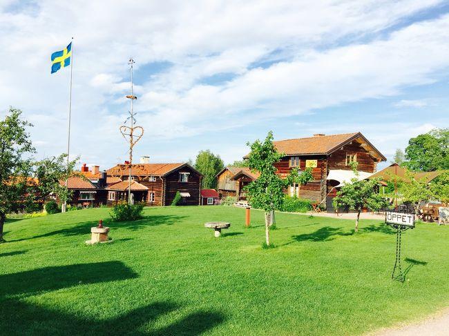 スウェーデン4日目・1泊2日でダーラナ地方テルベリへ小旅行。<br /><br />ストックホルムから電車で北に約3時間のダーラナ地方。<br />スウェーデンの人々にとっては心の故郷だそうです。<br /><br />のどかな田園風景の中に、伝統的な赤い壁や木の家が点在し、遠い昔のスウェーデンが残っています。<br /><br />まだ会社の仲良し同期と宿も決めず行き当たりばったりの旅をしていた頃、ガイドブックをパラパラめくって「明日どこ行く?」「ここいいよね!」「うん、ここにしよう!」と行ってみたら、景色も空気も綺麗な時間がゆっくり流れている村で。。。<br />すっかり気に入ってしまい1泊2日の予定がもう1泊してしまいました。<br /><br />そんな大好きなテルべリへ!      <br />                       <br />それなのに…とっても素敵な場所なのにガイド<br />ブックからは削除されていました。なんで???