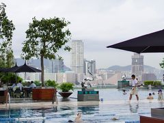 大好きな香港へ2015 香港島 を満喫した夏! Vol.7 フォーシーズンズのプール と とん吉 ! 【2015年8月13~2015年8月16日】