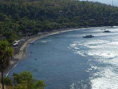 アメッドでシュノーケリング、翌日はゴアラワ寺院等を見ながら最後の宿泊地ジンバランまでドライブ (バリ島ドライブ旅行 その4)