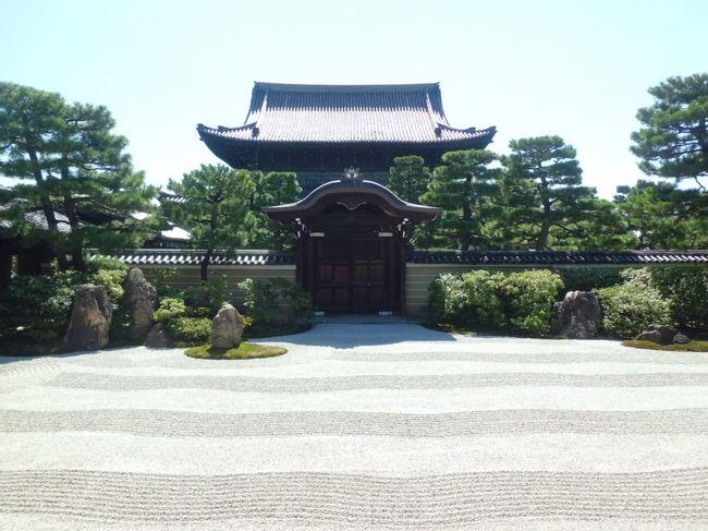 """母と2人旅してきました。<br /><br /><br />日帰りで、16時半には京都を発ちたかったので、<br />京都駅から程近い三十三間堂・建仁寺を回り、<br />祇園界隈をぶらぶらと散策しました。<br /><br /><br />時間的に全く無理のないプランで、<br />""""小回りだけど充実した旅""""になったと思います。"""