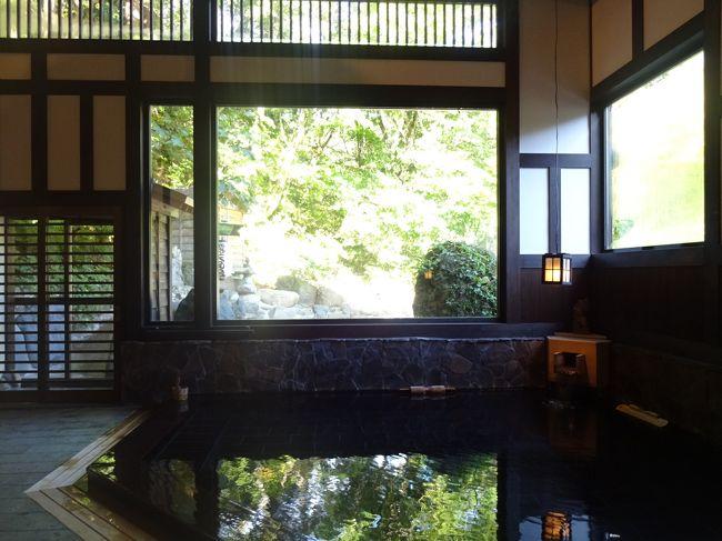 仕事で眼を酷使してるため、日本でも数少ない目に良いというこちらの温泉はずっと気になっていました。<br />ちょうどドライブ好きの高校時代の親友から温泉旅行の誘いがあったため、迷わず貝掛温泉をリクエスト。長風呂を楽しんでまいりました。