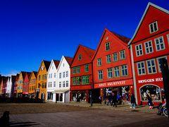 北欧 ノルウェーとデンマーク10日間の母娘の旅 ベルゲン④
