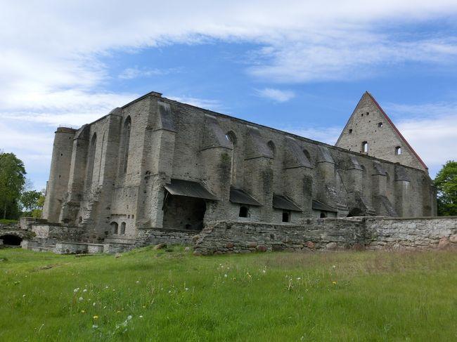 タリン:ピリタ修道院<br /><br />タリン:エストニアの首都  人口約54万人 歴史地区は世界遺産<br /><br />12日目 6/1(月)<br />     ・9時、アパートを出発<br />          ・city tour busに乗って、ピリタ修道院とエストニア野外博<br />      物館を回る。<br />     <br />13日目 6/2(火)<br />     ・8時半アパートを出る。<br />     ・ネイツィルトンなど最後の観光<br />     ・最初の日、バスターミナルまで出迎えに来てくれた運転手がタリン空      港まで送ってくれた。<br /><br />      タリン空港発   14:50 ヘルシンキ空港着 15:25<br />      ヘルシンキ空港発 17:20 関空着 6/3  8:55<br />        <br />      <br />旅行全般については、総集編をご覧ください。<br />総集編 http://4travel.jp/travelogue/11021564          <br />