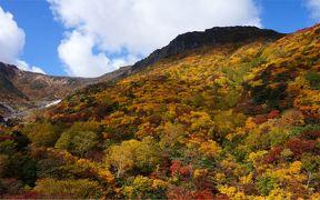 安達太良山でみつけた ほんとの空・ほんとの絶景紅葉
