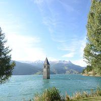チロルの大自然と小さな村【5】湖に水没した教会の神秘の美しさ