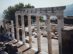 (8)1985年7月~8月トルコ周遊の旅11日間②トルコ(ベルガマ ベルガモン遺跡)