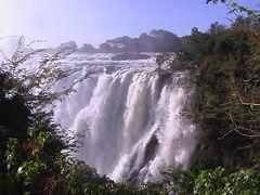 (25)2007年GW南アフリカ共和国・ジンバブエ・ザンビア・ボツワナの旅9日間①ザンビア(ビクトリア滝)