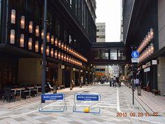 【東京散策36】アートアクアリウム最終日、入場制限で断念して日本橋ぶら~り・・・