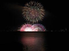 2015「第67回諏訪湖祭湖上花火大会」4万発の迫力に愕然!