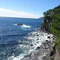 東京午後から1泊の伊豆の温泉民宿と海岸散策