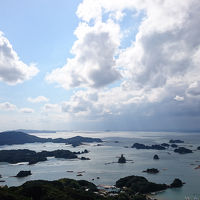 福山仕様のかもめに乗って、長崎、佐世保(バーガー)、九十九島へ