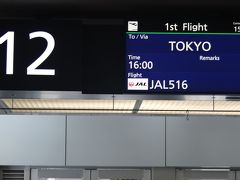 新千歳空港12番スポットから羽田へ