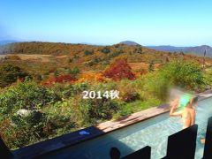 真っ白な湯治湯 紅葉の栗駒山荘で立ち寄り湯と戦利品