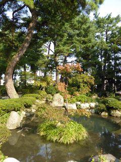秋の優雅な北陸と信州の旅♪ Vol34(第3日目午後) ☆黒部市:「松桜閣」の素晴らしい庭園♪
