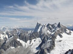 アルプス最高峰モンブランとアルプス3大北壁グランド・ジョラス
