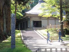 世界遺産の平泉町を散策。毛越寺、中尊寺、義経堂をめぐる。
