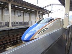 秋の優雅な北陸と信州の旅♪ Vol46(第5日目昼) ☆上田駅から北陸新幹線「はくたか」グランクラスで帰京へ♪