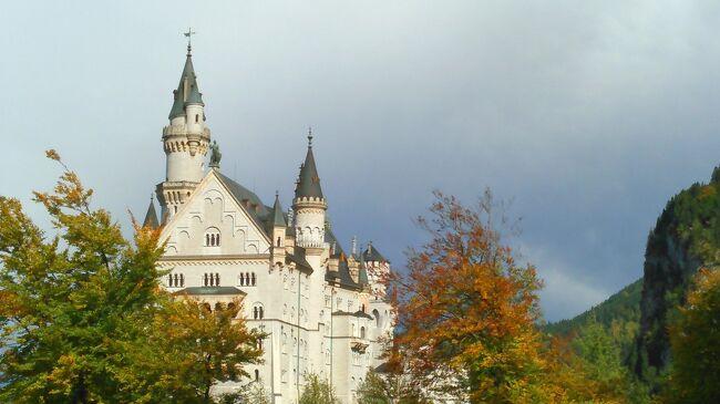 女性一人でもOK、ツアーで巡るドイツ10日間 その1 ノイシュバンシュタイン城など
