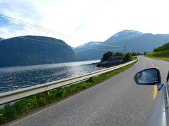 2015.8ノルウエーフィヨルドドライブ1771km 20-ValldalからLiabygda,フェリーでStrandaに帰る