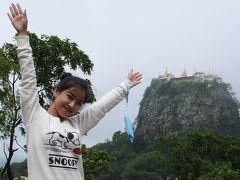 NACKさん ミャンマーで仏像を拝む 2 ポッパ山