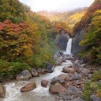新潟県妙高の「苗名滝」から飯山市を通って津南温泉に。