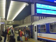 ヨーロッパ縦断8カ国12都市一人旅 10.ENユーロナイト寝台列車でブラティスラバからワルシャワへ