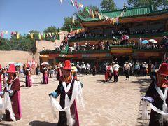 草原のチベットとレゴンの祭り(1) 西寧、同仁(レゴン)