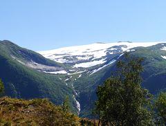 ノルウエーフィヨルドドライブ1700? 28-UtvikからSkeiへ,国道5号線で山脈を越える