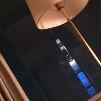 スカイツリーが見えるホテル宿泊