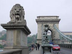 くさり橋を散歩、カタール航空で帰国~チェコ&ブダペストの旅14