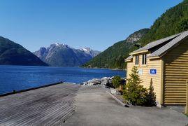2015.8ノルウエーフィヨルドドライブ1771km 30-SogndalからHella,フェリーでVangsnesに渡る.