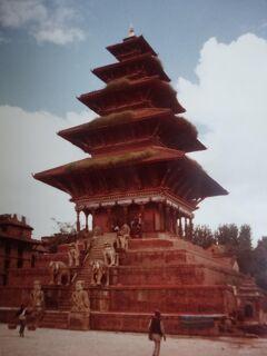 (2)1980年旧西欧(16か国)エジプト パキスタン インド ネパール136日間放浪の旅(101)ネパール(バドガオン)