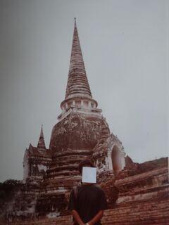 (2)1980年旧西欧(16か国)エジプト パキスタン インド ネパール136日間放浪の旅(103)タイ(アユタヤ バンパイン)