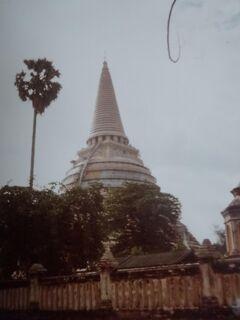 (2)1980年旧西欧(16か国)エジプト パキスタン インド ネパール136日間放浪の旅(104)タイ(ナコン・パトム)