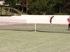 テニス合宿byメガロス