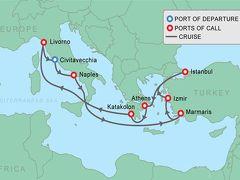 東地中海クルーズの旅2~クルーズの日程&ナポリ