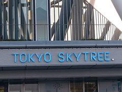 日帰り TOKYO SKYTREE。 完全無欠の夕夜景+東京モノレール最前席の眺望。