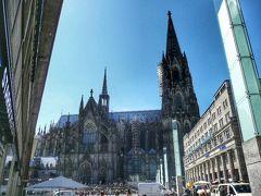ヨーロッパ鉄道の旅 #41 - ゴシック様式最高峰、ケルン大聖堂
