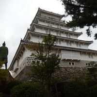 島原城天守閣と西望記念館の観光