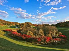 紅葉 日本のゴルフ場