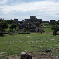 2015秋メキシコの旅 ~その7トゥルム遺跡、グランセノーテとカンクン