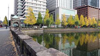 【東京】皇居の紅葉と皇居一周、2015年11月