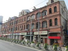 上海日本租界の東長治路・歴史建築