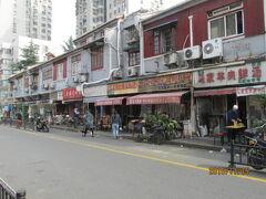 上海の虹口・東余杭路商店街