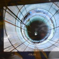 幌延深地層研究センターの地下施設見学(北海道)