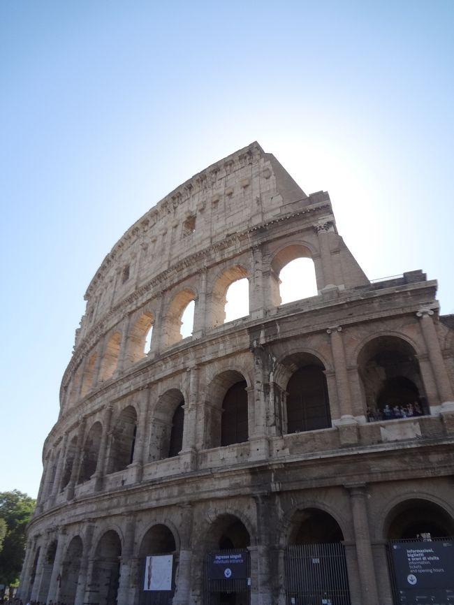 Part.3はポンペイ遺跡の観光からスタートです。<br />ポンペイ遺跡見学後、この旅の最終目的地ローマに向かいます。<br />よろしければお付き合い下さいませ。<br /> <br />【旅程】<br /><br />7月29日(水) 関空発(KL0868)→アムステルダム・スキポール空港→ミラノ・リナーテ空港→ホテル<br />7月30日(木) ミラノ→ベローナ→メストレ(泊)<br />7月31日(金) メストレ→ヴェネツィア→フェレンツェ(泊)<br />8月 1日(土) フェレンツェ→ナポリ(泊)<br />8月 2日(日) ナポリ→カプリ島→ナポリ→ポンペイ→ローマ(泊)<br />8月 3日(月) ローマ市内→ローマ(泊)<br />8月 4日(火) ローマ・フィウミチーノ空港→アムステルダム・スキポール空港(KL0867)→関空<br />8月 5日(水) 関空着